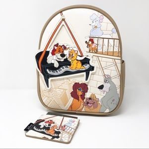 Loungefly Oliver & Company Mini Backpack Card Case